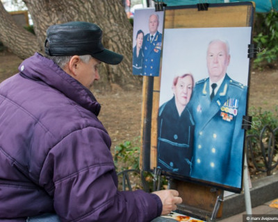 Настоящий крымский художник