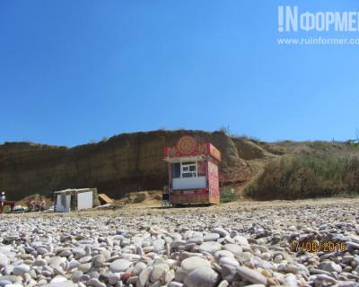 На севастопольском пляже «Боги блинов» чувствуют себя хозяевами