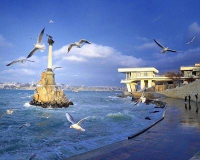 Севастополь - город федерального значения, а авиасообщения нет...