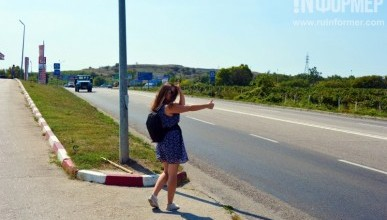 Корреспонденты «ИНФОРМЕРа» автостопом добираются до Москвы и Питера