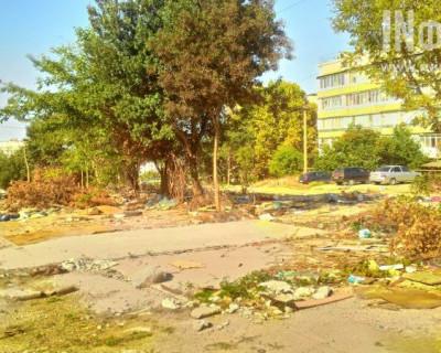 Севастопольский гаражный кошмар на улице Горпищенко