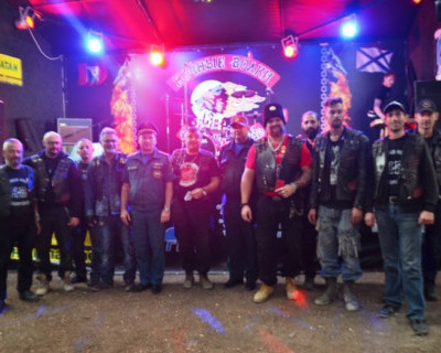 Севастопольских мотоциклистов наградили за тушение лесных пожаров