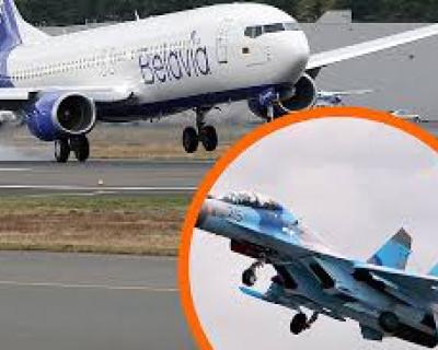 Турчинов разрешил поднимать истребители для возвращения авиалайнеров