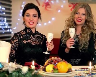 Севастопольский фейерверк новогодних поздравлений