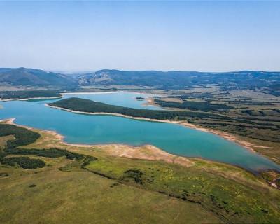 Самое крупное водохранилище в Крыму
