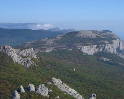 На этой крымской горе в изобилии растёт татар-чай