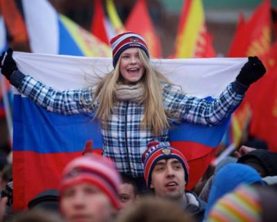 Более половины россиян назвали страну богатой и свободной