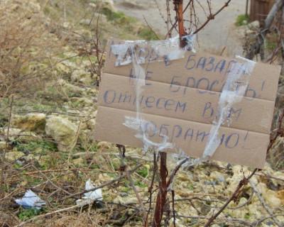 На мусорном горизонте Севастополя появились намёки на чистоту