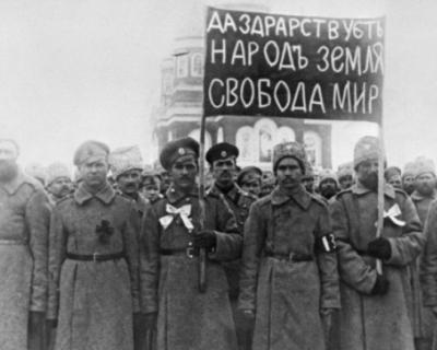 Почему народ принял идеи революции 1917 года?