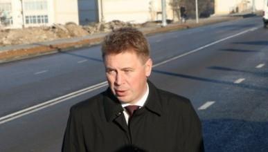 Врио губернатора Севастополя принял дорогу в Молочной балке