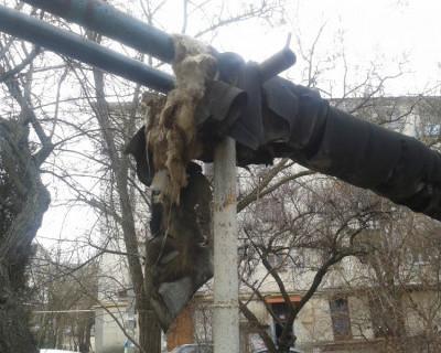 В Севастополе отапливают воздух?