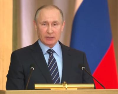 Президент России подвёл итоги работы прокуратуры и обозначил задачи на 2017 год