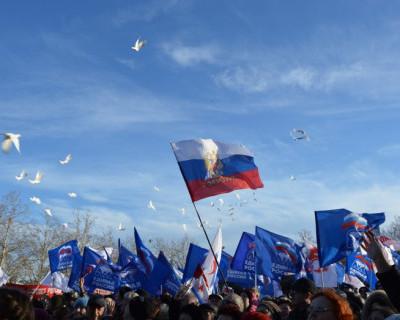 Севастополь и Крым празднуют третью годовщину всенародного референдума