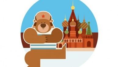 Шутки про Россию, медведей и балалайки оказались правдой?