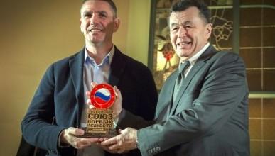 В Москве вручили «Золотой Пояс» севастопольской Федерации боевых искусств