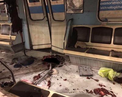 В вагоне метро нашли останки тела питерского террориста-смертника