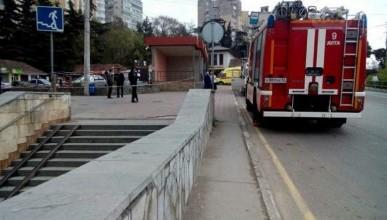 У страха глаза велики: в крымском городе оцепили остановку