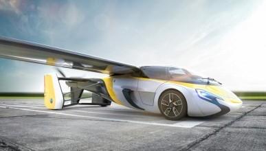 В мире представят первый летающий автомобиль