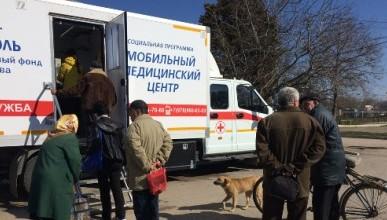 Мобильный медцентр Благотворительного фонда «Наш дом — Севастополь» Евгения Кабанова спасает жизни севастопольцев!