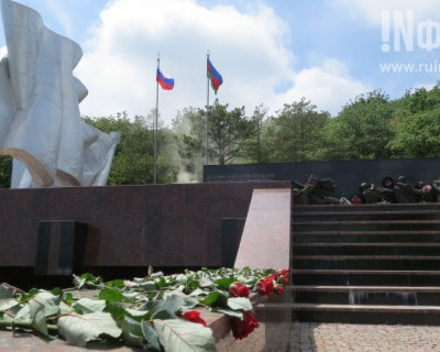 У монумента 77-й гвардейской стрелковой дивизии в Севастополе развернули полевую кухню