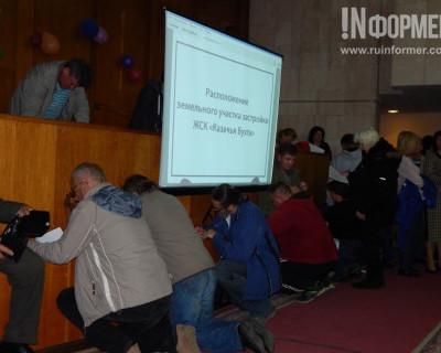 На публичных слушаниях большинство севастопольцев поддержали строительную компанию «Парангон»
