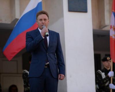 Врио губернатора Севастополя Дмитрий Овсянников сделал это заранее