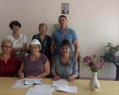 В Нахимовском районе Севастополя обсудили условия жизни пенсионеров