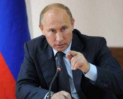 В субботу в Севастополь прибудет президент РФ Владимир Путин