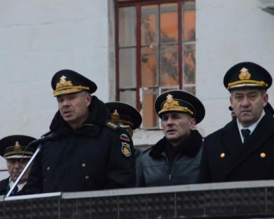 На Черноморском флоте в торжественной обстановке начался новый учебный год