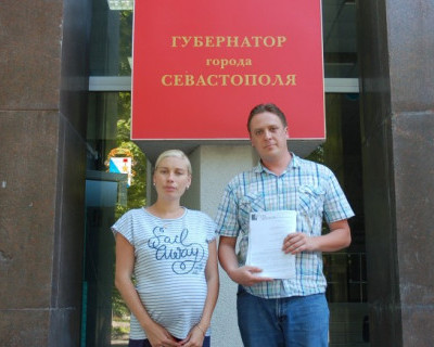 Властям Севастополя переданы подписи против кулуарной установки памятника Примирения