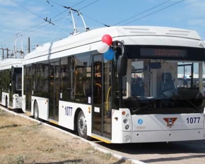 Катайтесь на здоровье! Севастополю передали первую партию новых троллейбусов