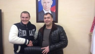 В Севастополе прошла встреча двух уникальных людей