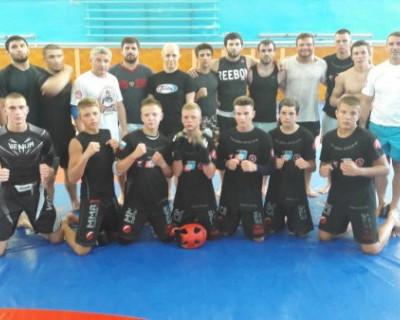 Севастопольские единоборцы провели тренировку со сборной России