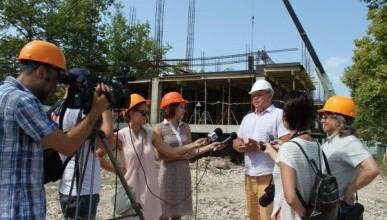Строительная компания «ИнтерСтрой» возобновила возведение музыкальной школы в Севастополе