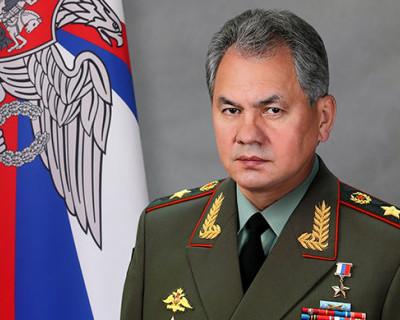 Министр обороны России поздравил военных моряков с Днём Флота