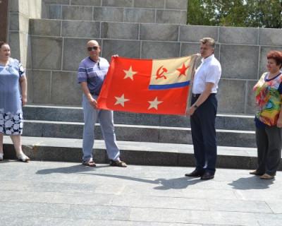 Флаг адмирала Виктора Сысоева передан в фонды Мемориального комплекса «Сапун-гора»