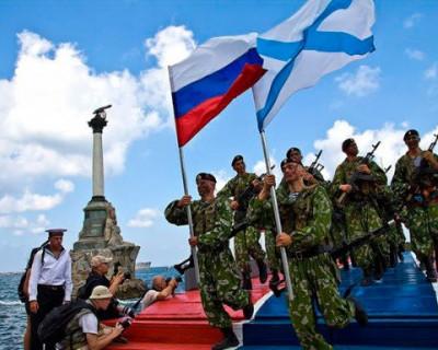 Севастопольцев поздравили с Днём Военно-Морского Флота