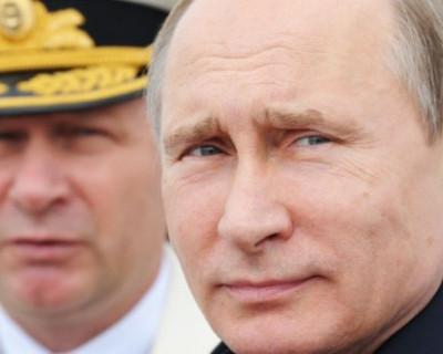 Владимир Путин поздравил с Днём Военно-Морского Флота России!