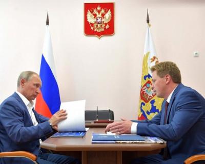 Что врио губернатора Дмитрий Овсянников пообещал президенту России и севастопольцам?