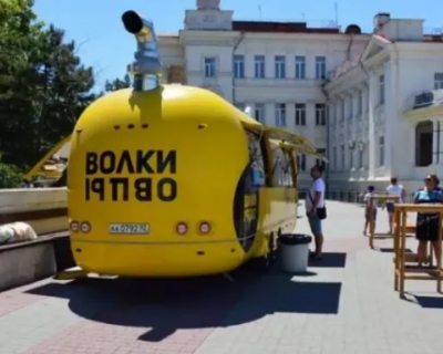 Жёлтые «шаурмичные» Николаева размещены в Севастополе незаконно