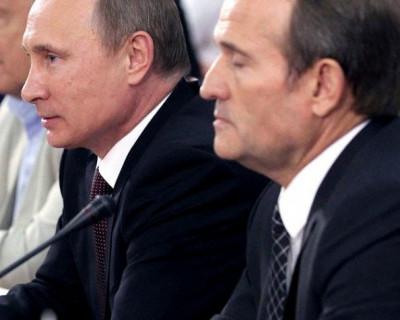 Во время поездки в Крым Владимир Путин провел закрытые переговоры с Виктором Медведчуком