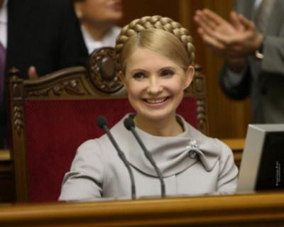 «Пятая точка» Юлии Тимошенко затмила новость о Саакашвили (ФОТО)