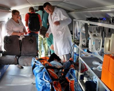 Тяжелобольных Крыма будут отправлять на материк на вертолётах (ФОТО)