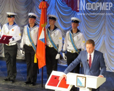 Эксклюзивные фото с инаугурации Дмитрия Овсянникова в Севастополе: кто с кем и в чём был замечен