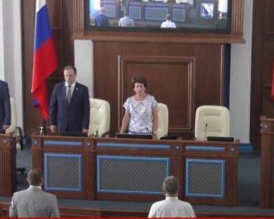 На сессии Заксобрания губернатор сообщил, что его команда всем сердцем полюбила Севастополь
