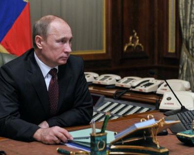 Маленькая экскурсия в кабинет Президента России (ФОТО)