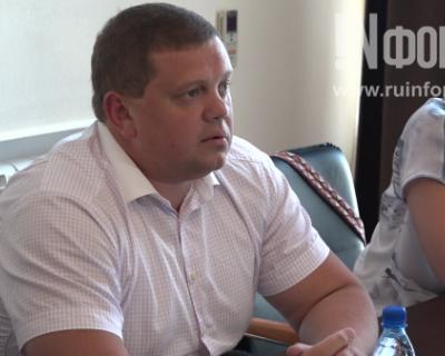 Чалый отдал своё место на инаугурации губернатора Евгению Кабанову