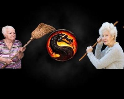 Мортал Комбат в Подмосковье: две старушки схлестнулись за качели (ВИДЕО)