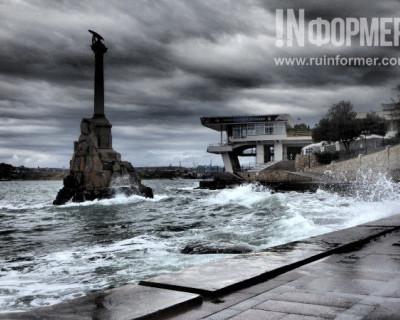 Севастополь штормит не по-детски (ФОТОРЕПОРТАЖ)