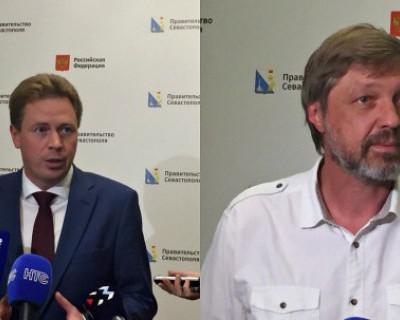Губернатор Севастополя рассказал об инвестпроектах, а Николаев ограничился приглашением на чаепитие
